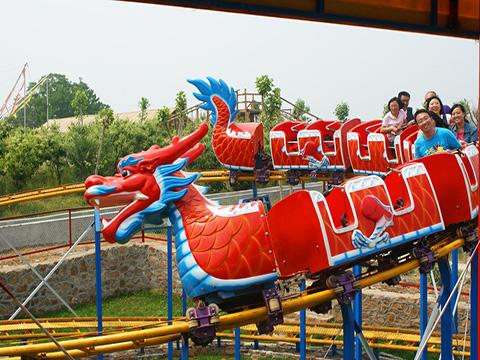 продать Аттракцион дракон из Китая