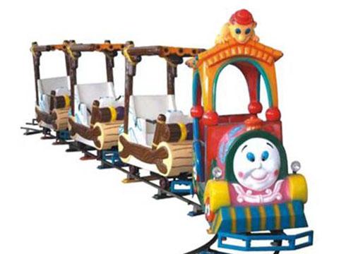 Аттракцион паровозик на редьсах для детей