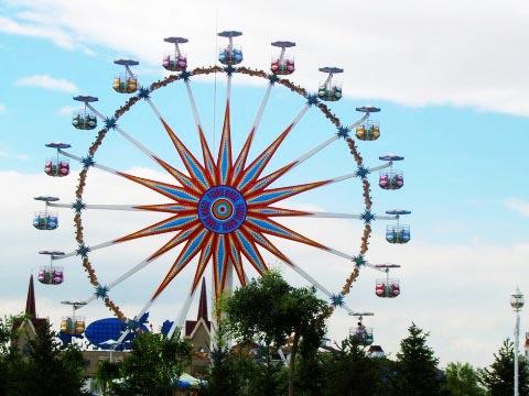 Аттракцион колесо обозрения для детей