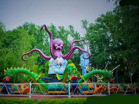 Beston аттракцион осьминог для парка