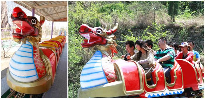 Аттракцион дракон купить из Китая