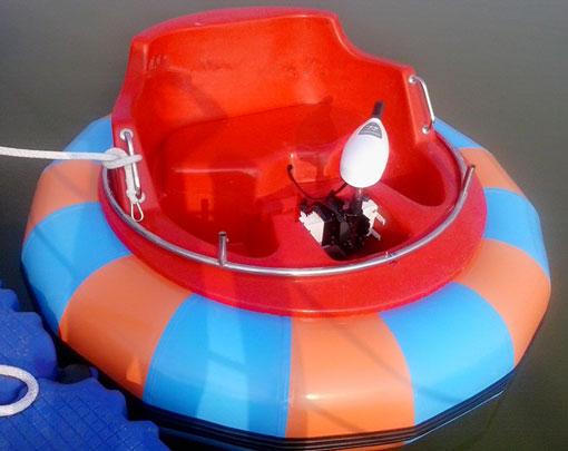 новые аттракционы бамперныне лодки для детей