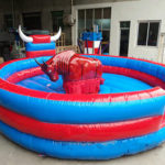 Аттракцион бык родео -  Механический Бык