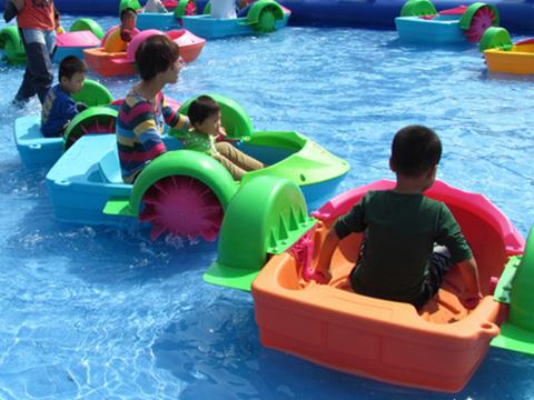 купить аттракцион детский лодки для парка