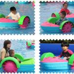 Аттракцион ручной катамаран — Детские лодки
