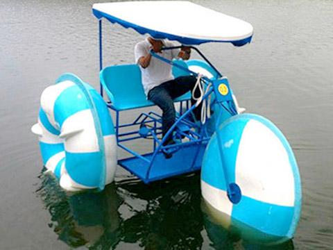 Трехколесный Водный велосипед Аттракционы купить