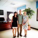 Россиия - Российские Колиенты посетил наш завод
