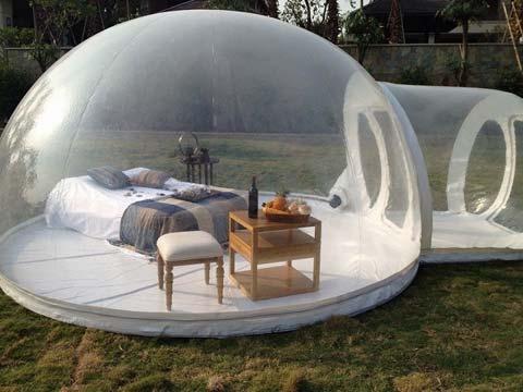 Палатка мчс надувная