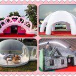 Аттракцион надувные палатки