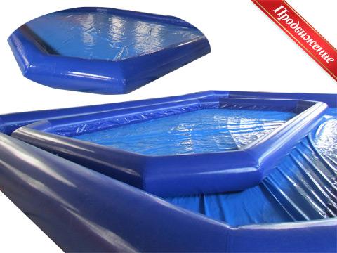Аттракцион надувной бассейн